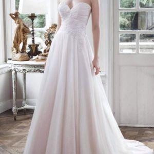 Maggie Sottero Dresses - Maggie Sottero Hattie Tulle A-Line Wedding Dress